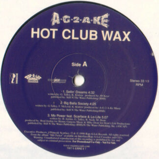 A-G-2-A-KE - Hot Club Wax (12