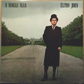 Elton John - A Single Man (LP, Album, Glo)