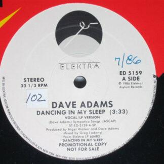 "Dave Adams (8) - Dancing In My Sleep (12"", Promo)"
