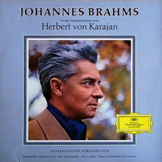 Herbert von Karajan /  Johannes Brahms - Johannes Brahms In Der Interpretation Von Herbert Von Karajan (LP, Promo)