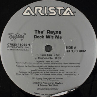 Tha' Rayne - Rock Wit Me (12
