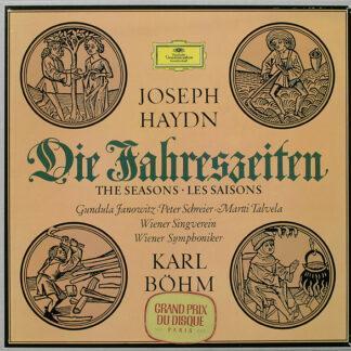 Joseph Haydn, Gundula Janowitz, Peter Schreier, Martti Talvela, Wiener Singverein, Wiener Symphoniker, Karl Böhm - Die Jahreszeiten (3xLP + Box)