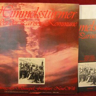 Die Himmelsstürmer - Lieder Der Pariser Kommune (LP, Album)