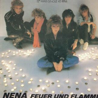 """Nena - Feuer Und Flamme (12"""", Maxi)"""