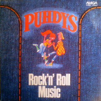 Puhdys - Rock'N' Roll Music (LP, Album)