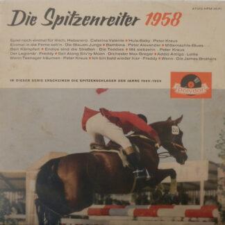 Various - Die Spitzenreiter 1958 (LP, Comp, Mono)