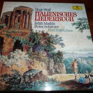 Hugo Wolf, Edith Mathis, Peter Schreier, Karl Engel - Italienisches Liederbuch (2xLP + Box)
