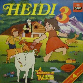 Johanna Spyri - Heidi 3 (LP)