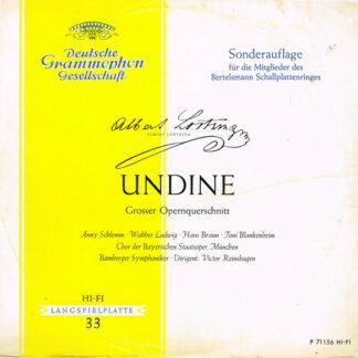 Albert Lortzing - Undine - Querschnitt In Deutscher Sprache (LP, S/Edition)