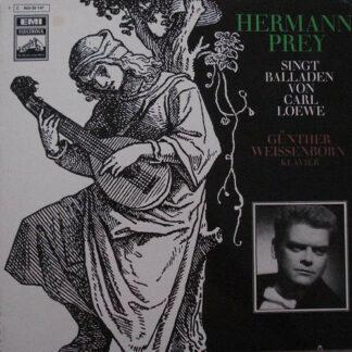 Hermann Prey, Carl Loewe, Günther Weissenborn - Hermann Prey Singt Balladen Von Carl Loewe (LP)