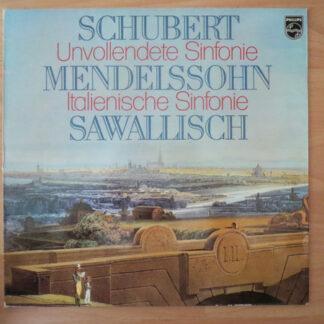 Schubert* / Mendelssohn* - Wolfgang Sawallisch / Die Wiener Symphoniker* - Unvollendete /
