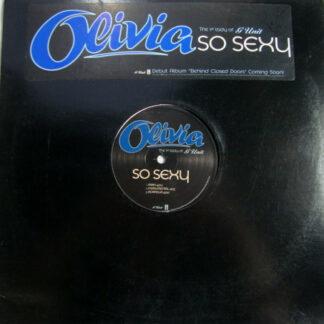 """Olivia - So Sexy (12"""", Promo)"""