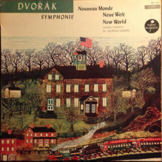 Dvorak* - Leopold Ludwig Conducting The London Symphony Orchestra - Symphonie Nouveau Monde / Neue Welt / New World (LP)