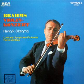 Brahms* - Szeryng*, Monteux*, London Symphony - Orchestra* - Brahms Violin-Konzert (LP, Album, RP)