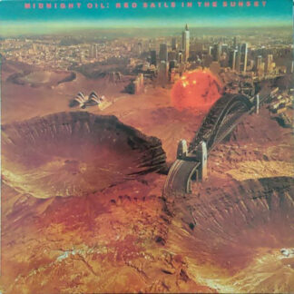 Midnight Oil - Red Sails In The Sunset (LP, Album, RE)