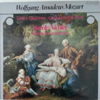 Wolfgang Amadeus Mozart, Aurèle Nicolet, Münchner Streichtrio, Ana Chumachenko, Oscar Lysy, Walter Nothas - Mozart : Flöten Quartette . Quatuors pour flûte (LP)