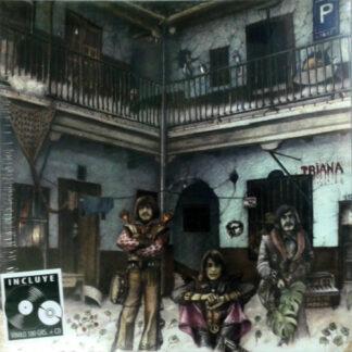 Triana (2) - El Patio (Gat + LP, Album, RE, RM + CD, Album, RE, RM)