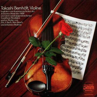 Takashi Bernhöft, Kammerorchester der Jeunesses Musicales NRW, Landesjugendorchester Nordrhein-Westfalen - Violine (LP, Album, Ltd, Sin)