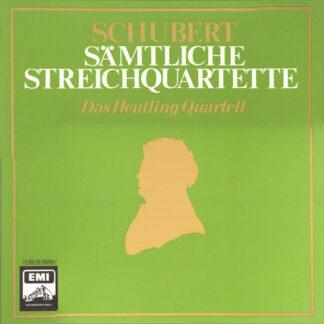 Schubert*, Das Heutling Quartett* - Sämtliche Streichquartette (5xLP + Box, RE)