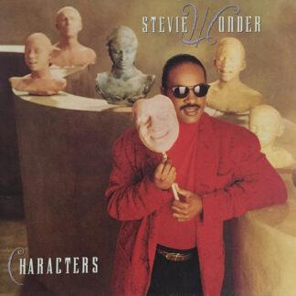 Stevie Wonder - Characters (LP, Album, Gat)