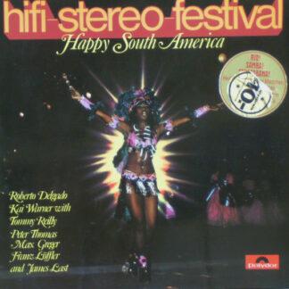 Various - Hifi-Stereo-Festival - Happy South-America (LP, Comp, Gat)