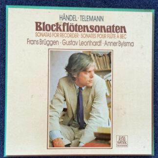 Georg Friedrich Händel, Georg Philipp Telemann, Frans Brüggen, Gustav Leonhardt, Anner Bylsma - Blockflötensonaten (2xLP, Box)