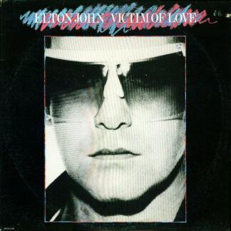Elton John - Victim Of Love (LP, Album, Tan)