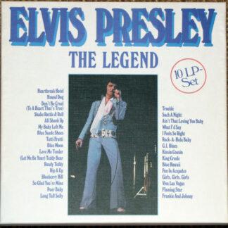 Elvis Presley - The Legend (10xLP, Comp + Box)