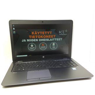 HP Zbook 15u g3 käytetty kannettava tietokone