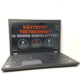 Lenovo ThinkPad P50 4K IPS käytetty kannettava tietokone KT-Trading Oy