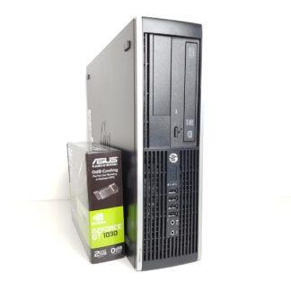KT pelikonepaketti G3 HP 8300 SFF + 22 -tuuman HP näyttö + hiiri sekä näppäimistö5