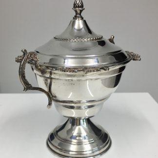 zuccheriera in argento 800