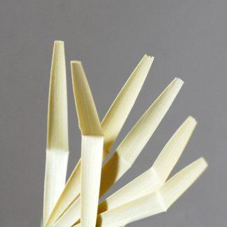 gouged shaped and folded oboe cane