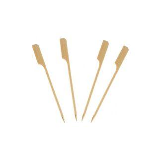 """Украшение """"Шпажка Гольф"""", бамбуковая, 12 см ( 100 шт./уп. )"""