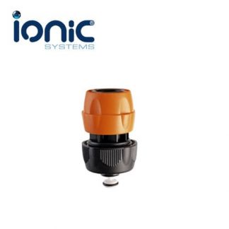 Female 1/2 inch QR fitting with auto-stop