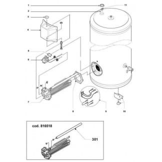 Ariston - 500ST6/500STT6 Cylinder Spares