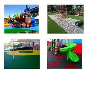 Diseño de parques infantiles seguros