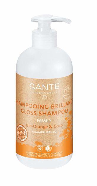 Mejor champu natural - Sante, Champú bio de naranja y coco
