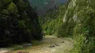 self guided hiking, Carpatian mountains, Poland, Dunajec gorge 3