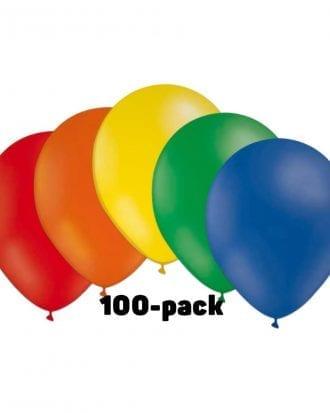 Ballongkombo Flerfärgad - 100-pack