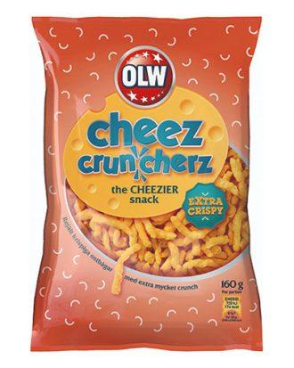 OLW Cheez Cruncherz - 160 gram
