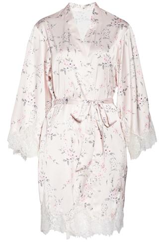 Homebodii satin robe | 40plusstyle.com