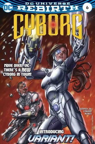 Review Komik Cyborg #6 (2016)