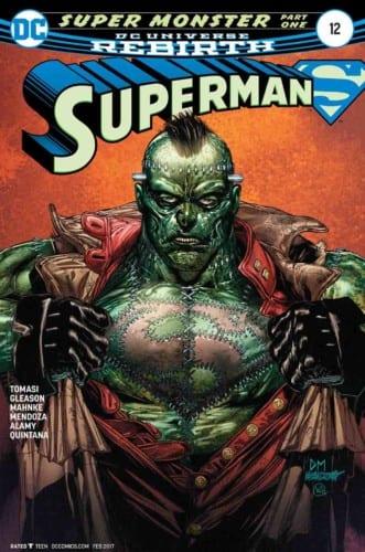 Review Komik Superman #12 (2016)