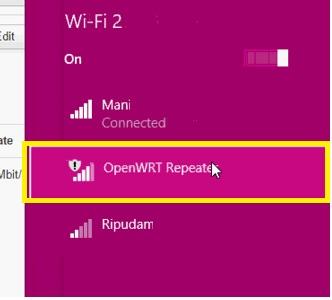 openwrt client bridge with tplink wr701
