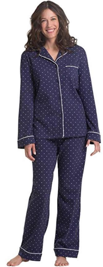cotton pajamas for women | 40plusstyle.com