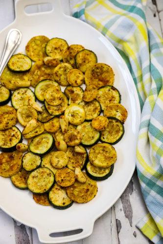 zucchini and yellow squash on
