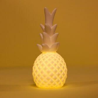 Kikkerland Ananas LEDlamp