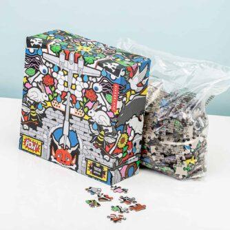 Kikkerland Pow puzzle