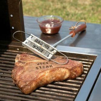 barbecue brandijzer bbq